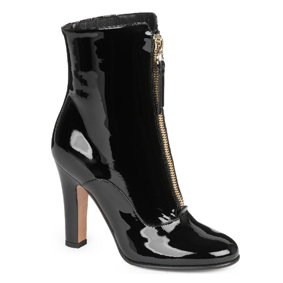 Patent Leather Ankle Boots | Poshmark